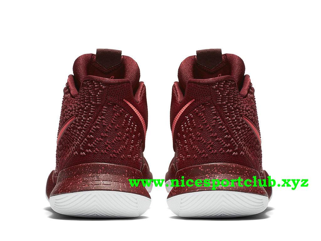 finest selection 1519a 5e86d ... Chaussures De BasketBall Nike Kyrie 3 Prix Pas Cher Pour Homme Team Red  852395 681 ...
